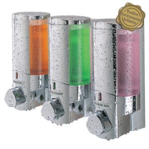Distributeur de savon 3 reservoirs